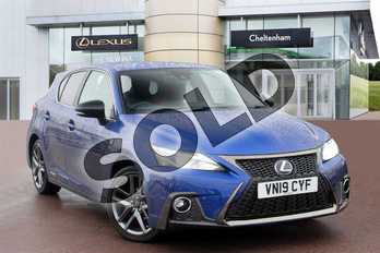 Lexus CT 200h 1.8 F-Sport 5dr CVT in Blue at Lexus Cheltenham