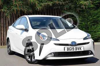 Toyota Prius 1.8 VVTi Business Edition 5dr CVT in Pearl White at Listers Toyota Coventry