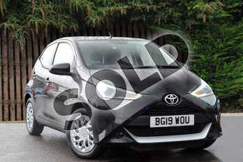 Toyota AYGO 1.0 VVT-i X-Play 5dr in Bold Black at Listers Toyota Coventry