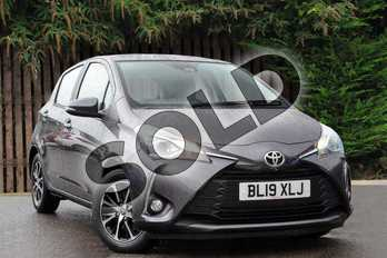 Toyota Yaris 1.5 VVT-i Icon Tech 5dr in Decuma Grey at Listers Toyota Coventry