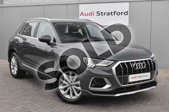 Audi Q3 35 TFSI Sport 5dr S Tronic in Nano Grey Metallic at Stratford Audi