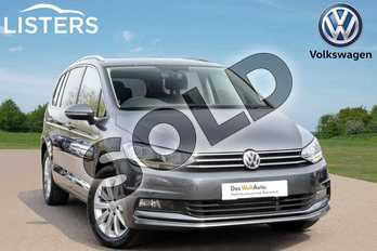 Volkswagen Touran 1.5 TSI EVO SEL 5dr DSG in Indium Grey at Listers Volkswagen Leamington Spa