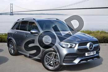 Mercedes-Benz GLE Diesel GLE 300d 4Matic AMG Line Premium 5dr 9G-Tronic in selenite grey metallic at Mercedes-Benz of Hull