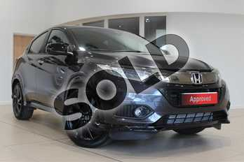 Honda HR-V 1.5 i-VTEC Turbo Sport 5dr in Ruse Black Metallic at Listers Honda Northampton