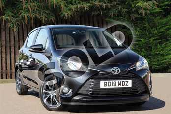 Toyota Yaris 1.5 VVT-i Icon Tech 5dr in Eclipse Black at Listers Toyota Coventry