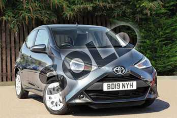 Toyota AYGO 1.0 VVT-i X-Play 5dr in Electro Grey at Listers Toyota Coventry