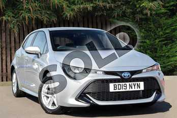 Toyota Corolla 1.8 VVT-i Hybrid Icon 5dr CVT in Tyrol Silver at Listers Toyota Coventry