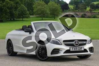Mercedes-Benz C Class AMG C43 4Matic Premium 2dr 9G-Tronic in designo Diamond White Bright at Mercedes-Benz of Boston