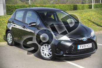 Toyota Yaris 1.5 Hybrid Active 5dr CVT in Black at Listers Toyota Lincoln