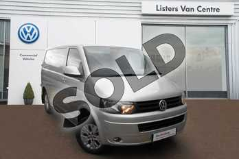 Volkswagen Transporter T30 SWB Diesel 2.0 TDI 140PS Highline Van DSG in Silver Metallic at Listers Volkswagen Van Centre Coventry