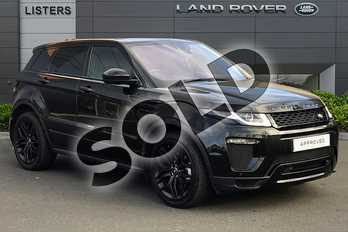 Range Rover Evoque Diesel 2.0 TD4 HSE Dynamic 5dr Auto in Santorini Black at Listers Land Rover Droitwich