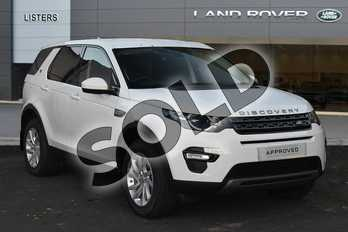 Land Rover Discovery Sport Diesel SW 2.0 TD4 180 SE Tech 5dr Auto in Fuji White at Listers Land Rover Droitwich