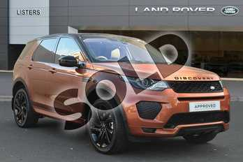 Land Rover Discovery Sport SW 2.0 Si4 290 HSE Dynamic Luxury 5dr Auto in Namib Orange at Listers Land Rover Droitwich