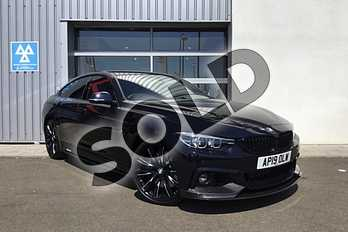 BMW 4 Series Gran Diesel 435d xDrive M Sport 5dr Auto (Professional Media) in Carbon Black at Listers King's Lynn (BMW)