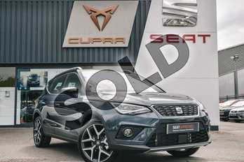 SEAT Arona 1.0 TSI 115 Xcellence Lux (EZ) 5dr in Grey at Listers SEAT Coventry