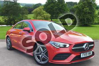 Mercedes-Benz CLA Class CLA 200 AMG Line Premium 4dr Tip Auto in Jupiter Red at Mercedes-Benz of Grimsby