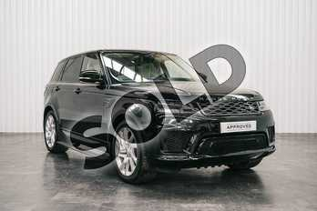 Range Rover Sport 2.0 P400e HSE Dynamic 5dr Auto in Santorini Black at Listers Land Rover Solihull