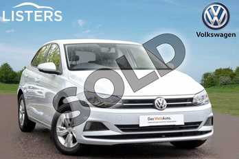 Volkswagen Polo 1.0 EVO SE 5dr in White Silver at Listers Volkswagen Leamington Spa