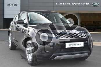 Range Rover Evoque Diesel 2.0 D180 S 5dr Auto in Narvik Black at Listers Land Rover Hereford