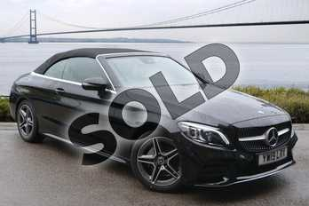 Mercedes-Benz C Class C200 AMG Line Premium 2dr 9G-Tronic in obsidian black metallic at Mercedes-Benz of Hull