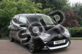 Toyota AYGO 1.0 VVT-i X-Plore 5dr x-shift in Black at Listers Toyota Stratford-upon-Avon