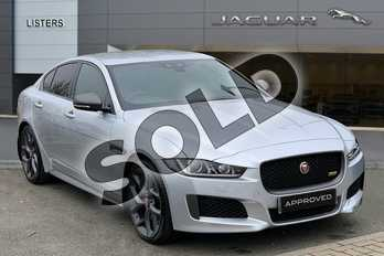 Jaguar XE 2.0 (300) 300 Sport 4dr Auto AWD in Indus Silver at Listers Jaguar Solihull