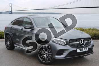 Mercedes-Benz GLC Coupe GLC Diesel GLC 220d 4Matic AMG Line Premium 5dr 9G-Tronic in selenite grey metallic at Mercedes-Benz of Hull