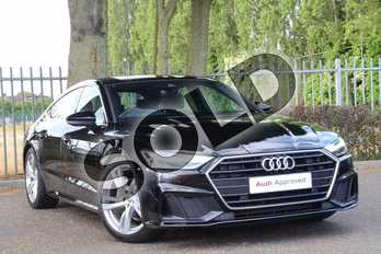 Audi A7 Diesel 40 TDI S Line 5dr S Tronic in Brilliant Black at Coventry Audi