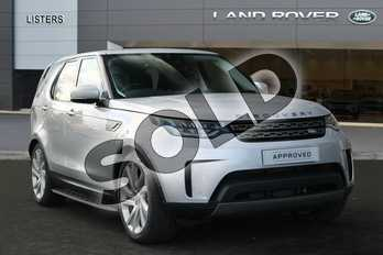 Land Rover Discovery Diesel SW 3.0 SDV6 SE 5dr Auto in Indus Silver at Listers Land Rover Hereford