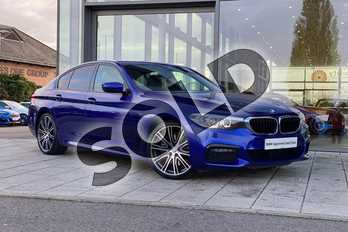 BMW 5 Series 530i M Sport 4dr Auto in San Marino Blue at Listers Boston (BMW)