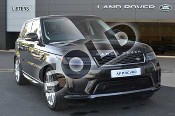 Range Rover Sport Diesel 3.0 SDV6 HSE 5dr Auto in Santorini Black at Listers Land Rover Hereford