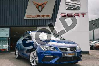SEAT Leon Sport Tourer 1.5 TSI EVO 150 FR (EZ) 5dr DSG in Blue at Listers SEAT Coventry