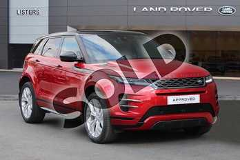 Range Rover Evoque 2.0 P200 R-Dynamic S 5dr Auto in Firenze Red at Listers Land Rover Hereford