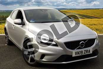 Volvo V40 Diesel D3 (4 Cyl 150) R DESIGN Nav Plus 5dr in 711 Bright Silver at Listers Volvo Worcester