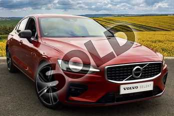 Volvo S60 2.0 T5 R DESIGN Edition 4dr Auto in Fusion Red at Listers Volvo Worcester
