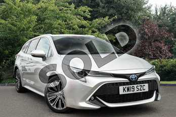 Toyota Corolla Touring Sport 1.8 VVT-i Hybrid Excel 5dr CVT in Silver at Listers Toyota Nuneaton