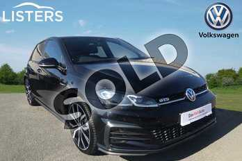 Volkswagen Golf Diesel 2.0 TDI 184 GTD 5dr DSG in Deep black at Listers Volkswagen Stratford-upon-Avon