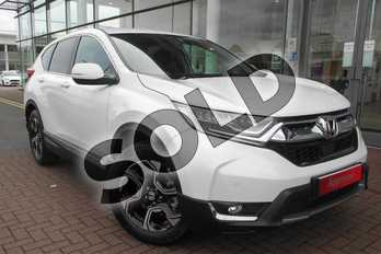 Honda CR-V 1.5 VTEC Turbo SE 5dr in Platinum White Metallic at Listers Honda Solihull