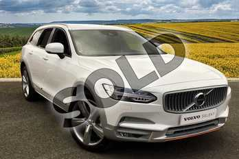 Volvo V90 Special Editions 2.0 D5 PP Cross Country Ocean Race 5dr AWD Grtron in 707 Crystal White at Listers Volvo Worcester