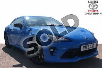 Toyota GT86 Special Edition 2.0 D-4S Blue Edition 2dr in Blue at Listers Toyota Stratford-upon-Avon