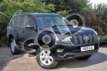 Toyota Land Cruiser 2.8 D-4D 4X4 Utility (177bhp) 5s 5Dr in Black at Listers Toyota Stratford-upon-Avon