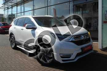 Honda CR-V 1.5 VTEC Turbo EX 5dr CVT in Platinum White Pearlescent at Listers Honda Solihull