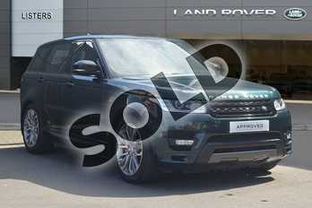 Range Rover Sport Diesel 4.4 SDV8 Autobiography Dynamic 5dr Auto in Aintree Green at Listers Land Rover Droitwich
