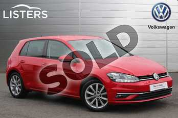 Volkswagen Golf 1.5 TSI EVO 150 GT 5dr DSG in Red at Listers Volkswagen Coventry
