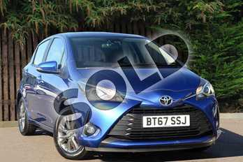 Toyota Yaris 1.5 VVT-i Icon 5dr CVT in Blue at Listers Toyota Coventry