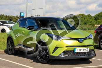 Toyota C-HR Hybrid 1.8 (122bhp) Lime Edition Crossover 5-Dr in Green at Listers Toyota Lincoln