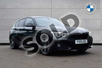 BMW 1 Series Special Edition 120d M Sport Shadow Ed 5dr Step Auto in Black Sapphire metallic paint at Listers Boston (BMW)