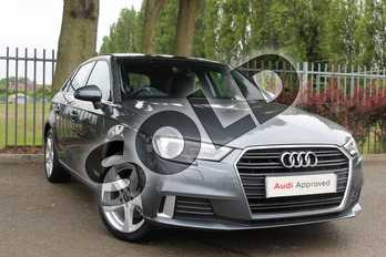 Audi A3 35 TFSI Sport 5dr in Monsoon Grey Metallic at Coventry Audi