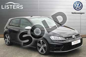 Volkswagen Golf 2.0 TSI R 5dr in Deep Black at Listers Volkswagen Stratford-upon-Avon