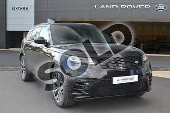 Range Rover Velar Diesel 2.0 D240 R-Dynamic HSE 5dr Auto in Santorini Black at Listers Land Rover Hereford